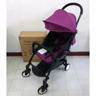 Baby yoya stroller ungu