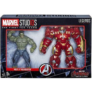 Marvel Legends Studios The First Ten Years Age Of Ultron Hulk & Hulkbuster 2-pack MCU Stud10s Rare