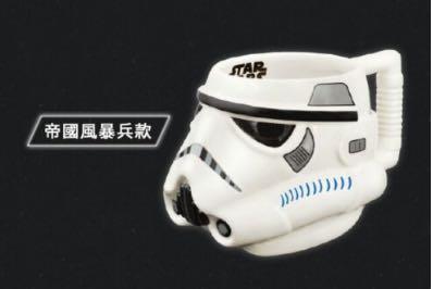 🚚 星際大戰3D立體馬克杯-帝國風暴兵款
