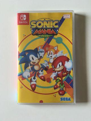 🚚 Nintendo Switch Sonic Mania Plus