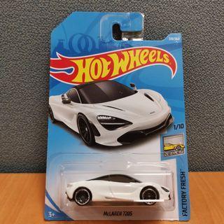 Hot Wheels FACTORY FRESH McLAREN 720S white