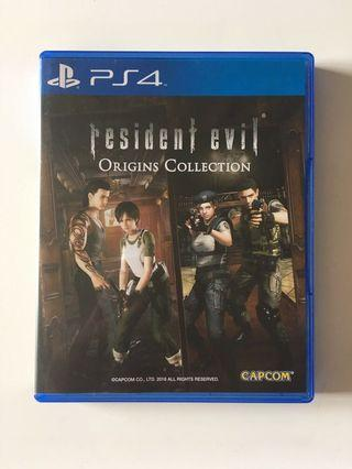 PS4 Resident Evil Origin Collection