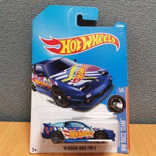 Hot Wheels HW RACE TEAM 96 NISSAN 180SX TYPE X