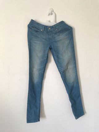 ORIGINAL Levis light blue jeans denim sz 27