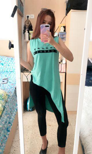Long Top / Baju Pantai / Assymetri Dress