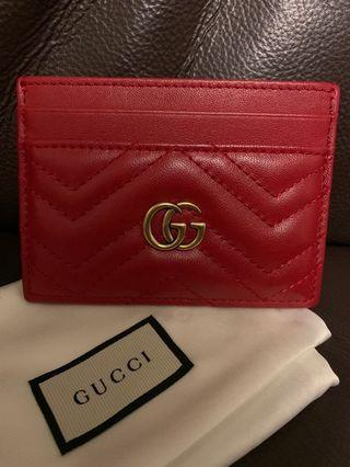 ❤️ 100% New Gucci GG Mormont Card Holder 咭片套