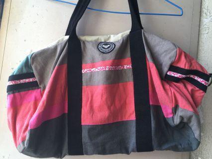 Roxy 帆布行李袋 / Roxy duffel bag