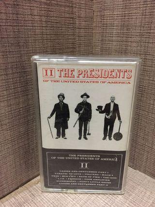 Kaset Pita The Presidents of The USA (Album: II)