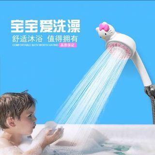 Hello Kitty浴室立體卡通人物花灑頭