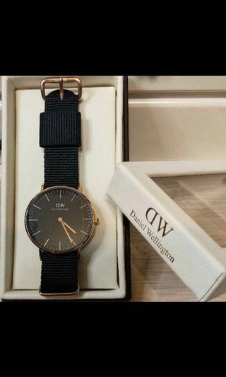DW尼龍帶精品手錶