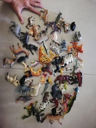 Plastic Animals Big Batch