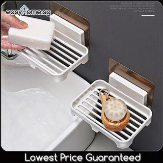 SQ5050 Magic Stick Soap / Sponge Holder - Bathroom Toilet Shelves Fixture