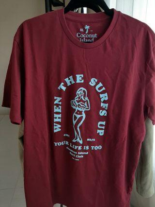 COCONUT ISLAND t-shirt