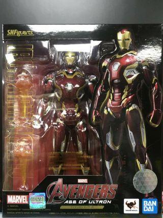 S.H.Figuarts (SHF) Avengers 2 [Age of Ultron] 復仇者聯盟 奥創世紀 Iron Man Mark XLV 鐵甲奇俠 Mark 45 全新日版靚盒 <最後一隻>