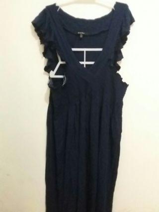 Dress kaos navy