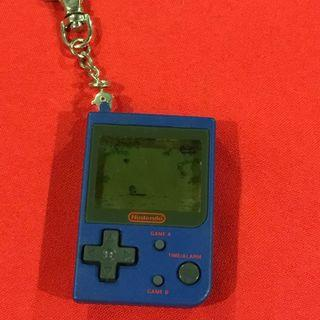PARACHUTE Mini Classics Nintendo clock alarm key chain handheld game 1998