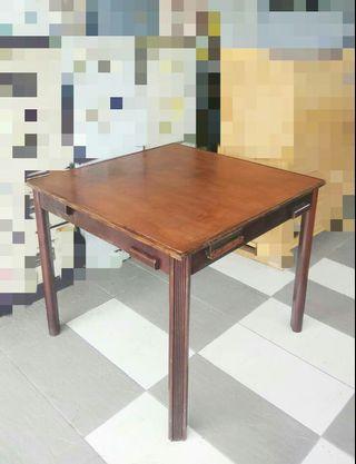 Wooden Mahjong/ Game Table