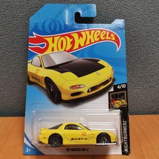 Hot Wheels NIGHTBURNERZ 95 MAZDA RX-7