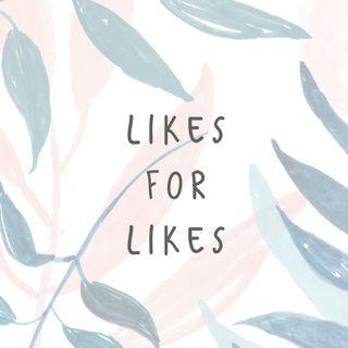 Likes for likes! Comment below after liking 👍