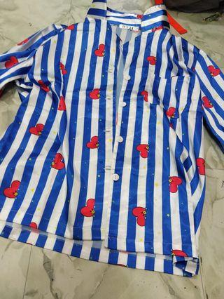 Bt21 bts tata pajamas (unofficial)