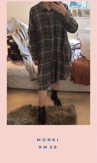 Monki Long Shirt