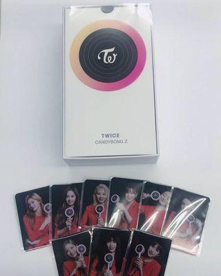 [PO] Twice Candy Bong Z Photocard Set