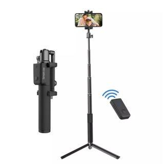 Smatree SMASTICK Selfie Stick with Bluetooth Remote, Tripod and Pouch for Smartphone iPhone XS MAX/XR/XS/X/8/8P/7/7P/6s/6, Galaxy S9/S8/S7/S6/Note 9