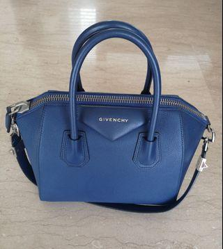 Givenchy Antigona Midnight Blue