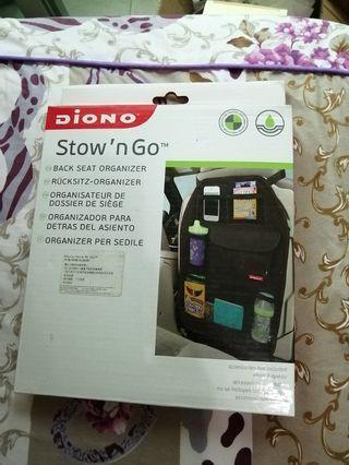 全新Diono 汽車椅背收納袋 / Stow N Go