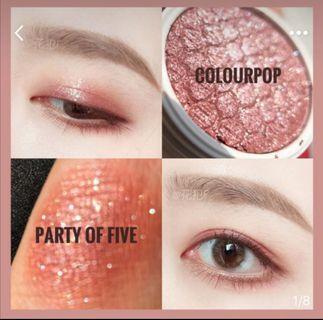 Colourpop Eyeshadow 眼影