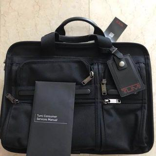 GSS Special!  Tumi brand new with tags Expandable Organizer Computer Brief Model: 026141D4