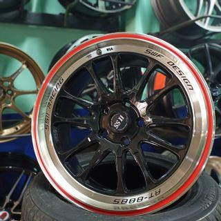 new sport rim 17 inch exora accord preve