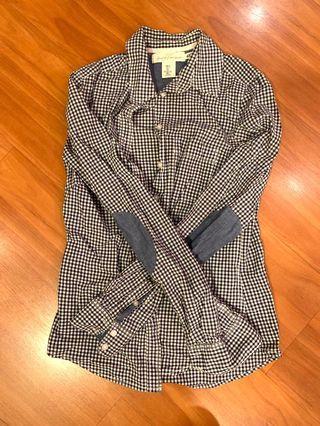 H&M Shirt Long Sleeve Chequered