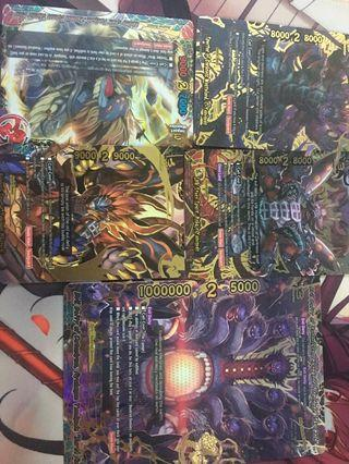 Buddyfight yamigedo set