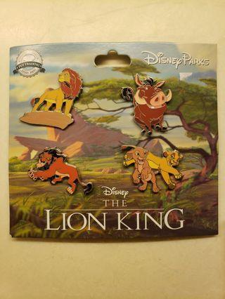 Lion king simba disney pin獅子王迪士尼徽章襟章