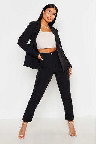 Boohoo Petite Tailored Trousers