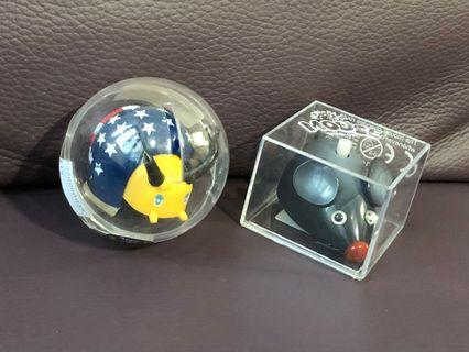 (C754)HANS甲蟲、老鼠上鍊玩具2個(共$12)