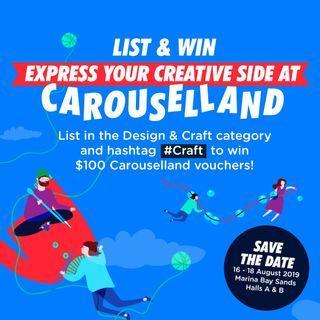 #Craft List & Win $100 Carouselland vouchers