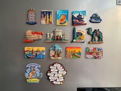 15 pcs fridge magnet