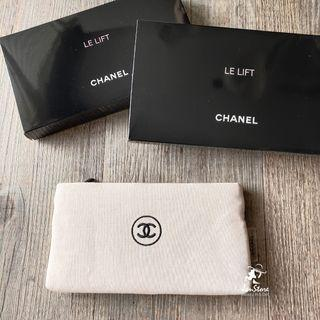 Chanel Beaute Free Gift Zip Makeup Pouch