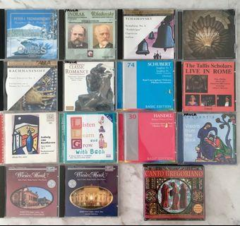Classical CDs: 16 for $20