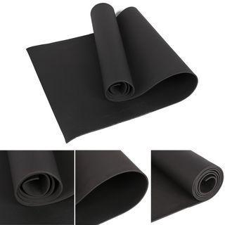 New black 4mm yoga mat