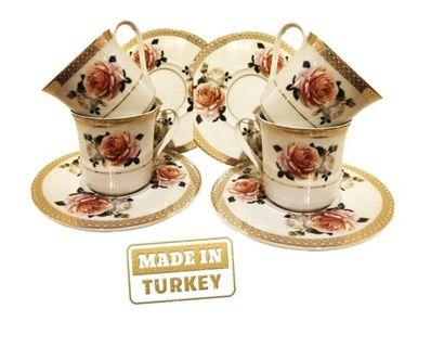 New Turkish Imported Tea/Coffee Cup Set #CarousellFaster