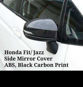 Honda Fit/Jazz Side Mirror cover Carbon Print replacement