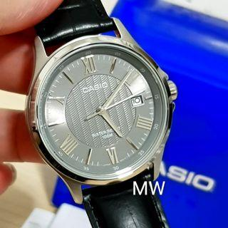 🚚 Genuine casio mtp-1383l-1a men's leather watch brand new