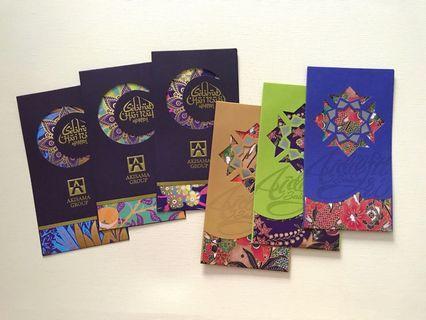 6pcs Akisama 2019 exclusive raya packet / sampul raya