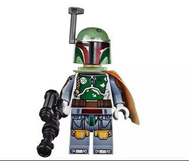 Lego 75060 Star Wars Boba Fett (Printed Arms and Legs) 人仔1隻 全新