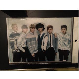 韓團Vixx & 韓綜Running man A4 size Folder