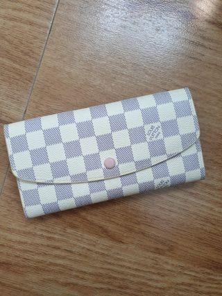 LV inspired wallet (Rose Ballerine!) 😍