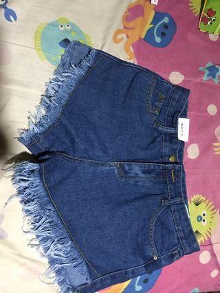 Hotpants jeans high waist